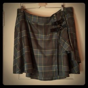 Torrid Outlander Tartan Plaid Skirt